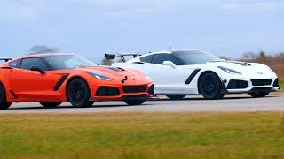 2019 Corvette ZR1 Drag Race: 850 HP vs 755 HP