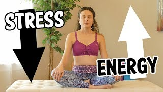 Neck & Shoulder Pain Relief With Melissa ♥ Reduce Stress & Boost Energy, Self Care, Simple Stretches