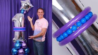 BOUQUET DE GLOBOS - Como Hacer Un Bouquet De Globos De Numeros - Gustavo Gg - Balloon Bouquet