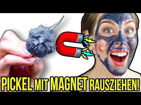 PICKEL MIT MAGNET MASKE RAUSZIEHEN? 300€ MAGNETISCHE MASKE | LIVE TEST