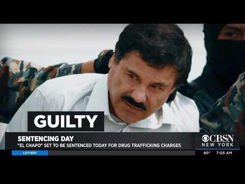Drug Lord 'El Chapo' To Be Sentenced