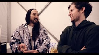 Alan Walker: Unmasked Vlog (#12) Steve Aoki's SECRET Cake Recipe!