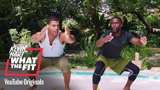 Superior Sumo Squats | Kevin Hart: What The Fit | Laugh Out Loud Network - dooclip.me