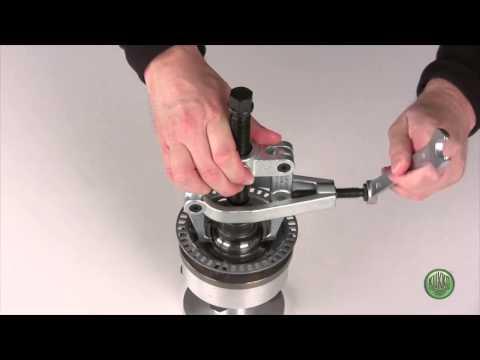 KUKKO - Extractor para cubo de rueda delantero vehículos VW y AUDI - 204-V