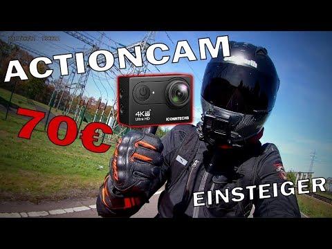 Beste EINSTEIGER Actioncam 4K 2018   70€!   Test   Top