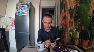 #липецк. Пришёл с работы. Пьём кофе. На улице весна как-будто +2. 17.01.2020 #GoPro