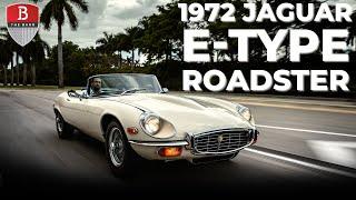 Most BEAUTIFUL car ever made? Driving the Jaguar E-Type (XK-E) V12 Roadster Series 3