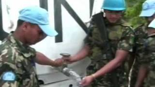 UN Peacekeepers (Warning: Graphic Video)