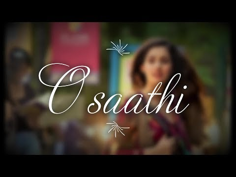 O Saathi video song with lyrics | Baaghi 2 | Atif aslam latest song (2018)