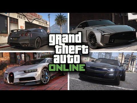 GTA 5 Online - BEST CARS TO CUSTOMIZE IN GTA V Online [RARE & SECRET CARS & CUSTOMIZATION]