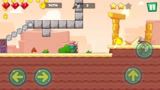 Jungle Adventures: Super World - Sahara Level 13... Gameplay (Free Game On Android)