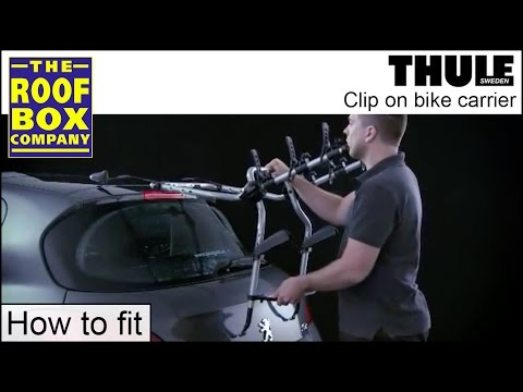 Thule Clip On - rear mounted Bike Carrier - How to fit