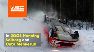 WRC History - stunning moments at Rally Sweden