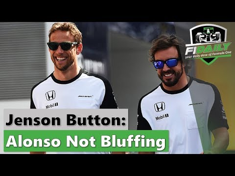 F1 Daily: Alonso Not Bluffing