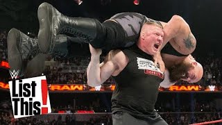 7 Superstars who lifted Big Show: WWE List This!