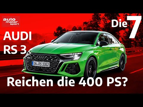 Reichen die 400 PS? 7 Fakten, zum neuen Audi RS 3 | auto motor und sport
