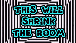 Shrink The Room - SEE THINGS - Insane Optical Illusions - 2017