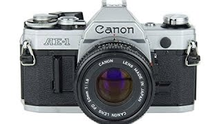 How To Use A Canon AE 1 35mm Film Camera