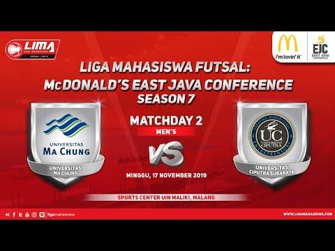Men's MA CHUNG vs UC LIMA Futsal: McDonald's EJC Season 7