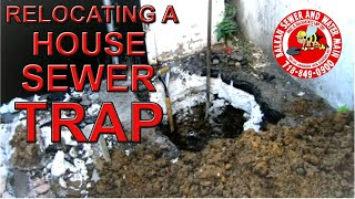 preview picture of video 'Sewer Trap Replacement - Jamaica Queens'