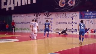 Суперлига. 4-й тур. «Динамо Самара» - «Газпром-ЮГРА» (Югорск). Матч №2