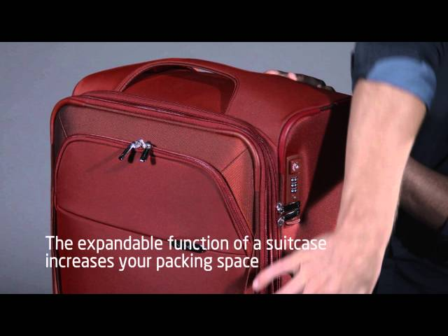 B-Lite 3 Spinner Expandable (4 wheels) video 2