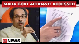 Sushant Death Probe: Maharashtra Govts 20-Page Affidavit Filed In Supreme Court Accessed - Download this Video in MP3, M4A, WEBM, MP4, 3GP