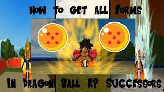 roblox dragon ball rp successors all forms - Free video