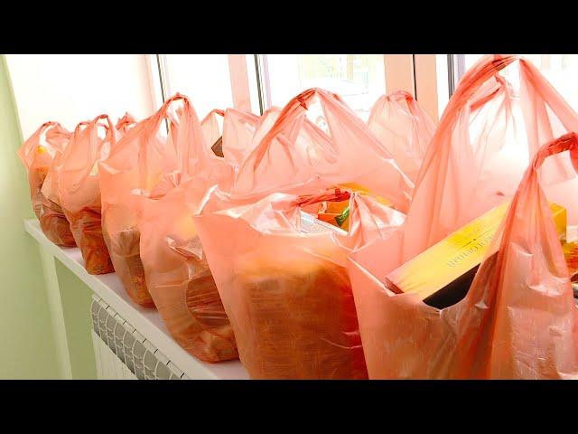 В Ангарске школьникам начали выдавать продуктовые наборы