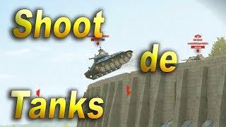 Shoot Flying Tanks | Training Room Fun | WoT Blitz