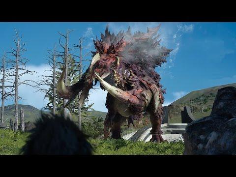 Final Fantasy XV Griffin Boss Battle - смотреть онлайн на Hah Life