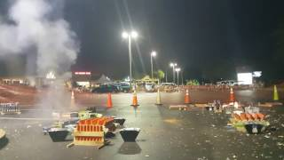 4th of July Fireworks Show 2016 - Ground Zero View