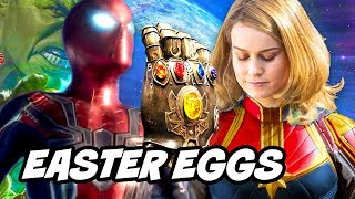 Avengers Infinity War TOP 50 Easter Eggs and References Explained