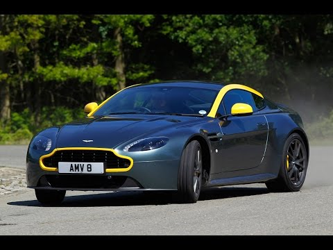 Aston Martin V8 Vantage N430 tested