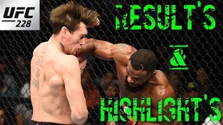 UFC 228 Results And Highlights Tyron Woodley vs Darren Till - UFCTALKS