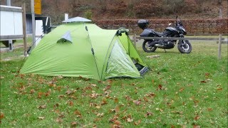 Queedo Oak 3 für Motorradwanderung