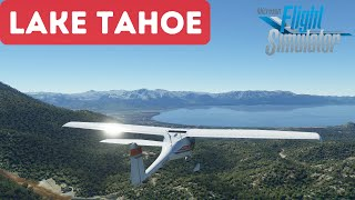 Microsoft Flight Sim 2020 Lake Tahoe Ultra HD Settings