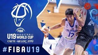 Philippines V New Zealand  Full Game   FIBA U19 Basketball World Cup 2019