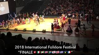 "2018 International Folklore Festival ""FINALE🇨🇭🇲🇽🇧🇮🇨🇷🇿🇦🇯🇵🇬🇪🇬🇷🇬🇵🇫🇷�"