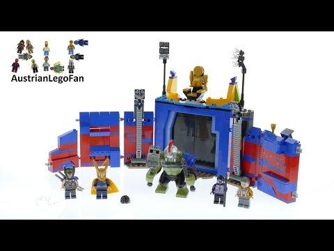 Vidéo LEGO Marvel 76088 : Thor contre Hulk : le combat dans l'arène