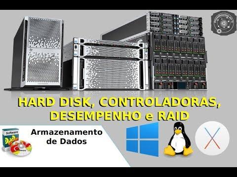 🖥 Hard Disk, Controladoras, Desempenho e Raid