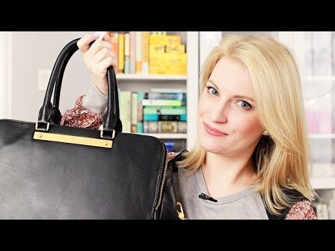 Marc Jacobs Handbag Review (+ Mini What's In My Bag)