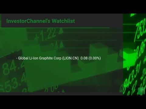InvestorChannel's Graphite Watchlist Update for Wednesday, September, 22, 2021, 16:00 EST