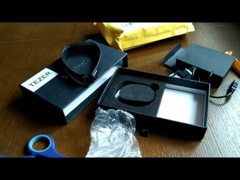 TEZER R5 PRO Smart wrist. Смарт часы (браслет) лучшие с Али за свои деньги