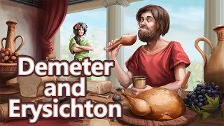 Demeter and Erysichthon: The Hunger Myth - Greek Mythology Ep. see u in history