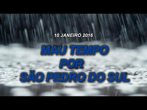 Mau tempo - São Pedro do Sul 2004