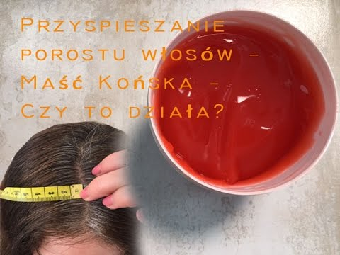 Maska do włosów z olejkami i witaminami jajkiem