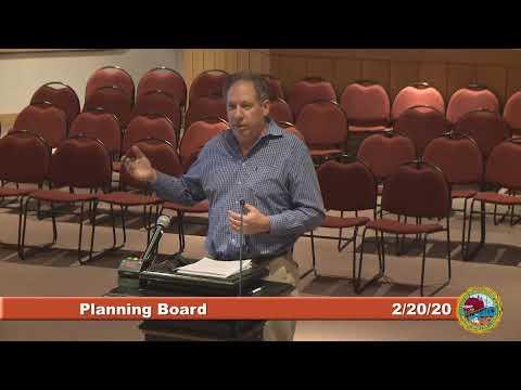 Planning Board 2.20.2020
