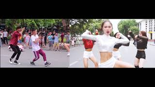 [Behind The Scene] Phố Đi Bộ thích thú 2 bạn trẻ quay MV Ddu-Du Ddu-Du BLACKPINK Dance Cover