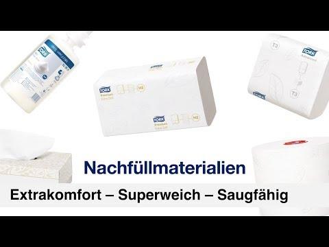 TORK Papierhandtücher mit Interfold-Falzung